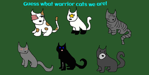 Warrior Guessing Game! Part One by Winterbelly