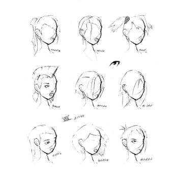 Hair Styles Vol 8 by FabledCreative