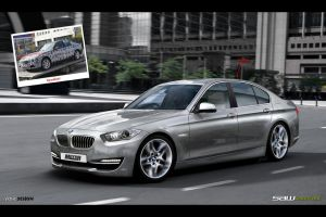BMW 3 series_F30 vision by yasiddesign