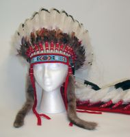 Indian Chieftain Headdress by Ela-Hara