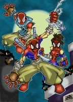 Spider-Clan colours by zero-XII