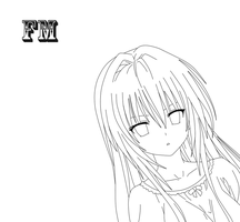 To Love-ru Darkness Lineart 3 by FM013