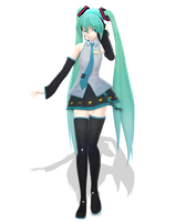 .: DL Series :. Colon Miku Hatsune by Duekko