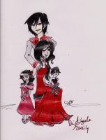 Di Angelo Family by Ashe1313