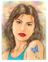 Little Butterfly color by fernandomerlo