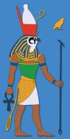 The God Horus by Tutankhamun