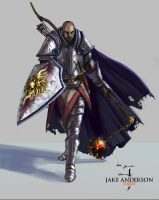 Male Knight by jakeandersonstudio