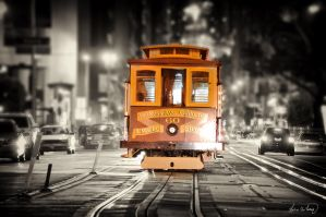 Cable Car in SF by tt83x