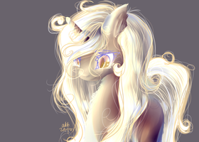 Light horse by sparklyAxolotl
