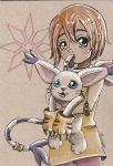 Kari and Gatomon by moonshadebutterfly