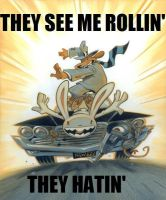 Sam + Max: They See Me Rollin' by bad-asp