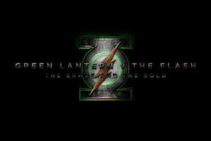 GREEN LANTERN v THE FLASH - LOGO by MrSteiners