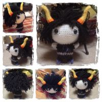 Chibi Gamzee Plushie from Homestuck by Art-in-motion-1