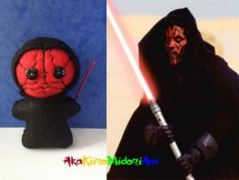 Star Wars Plushes: Darth Maul by AkaKiiroMidoriAoi