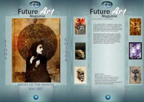 Monthly Artist May by Future-Art-Magazine
