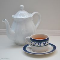 Tea Pot and Cup (1) by aipstock
