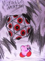 Kirby: a battle with Miracle Matter by Rotommowtom