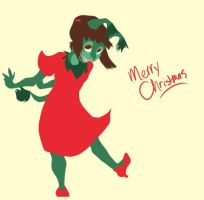 Little Christmas Miss by InkyFridays