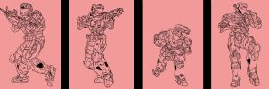 Pink Squad by oBuck3tso