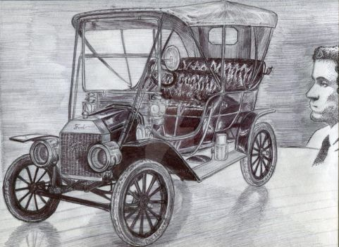 Model T Ford 1909 by kashmere1646