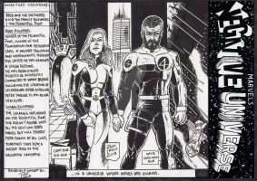 Sue/ Reed Richards Marvels Negative Universe by wolvesbear