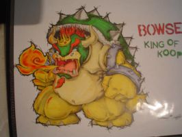 Bowser King of the Koopas by singleman23