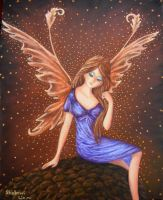 Daydream Fairy - Oil Painting Version by Shabriri-Lin