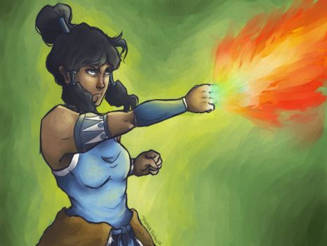 korra by pumpkinn-queenn