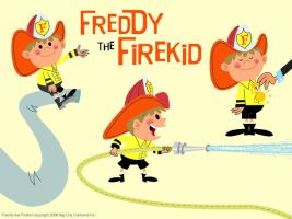 Freddy the Firekid by riddsorensen