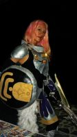Cosplay Lightning Final Fantasy XIII-2 by MinaScarlett