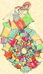 Circle of books by linhnino
