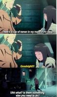 Naruto and Hinata momment in the last movie by BlackOtakuZ