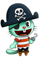 Russell Happy Tree Friends Png by Miqita