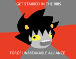 KARKAT MEME BLUH BLUH by Ultimagus