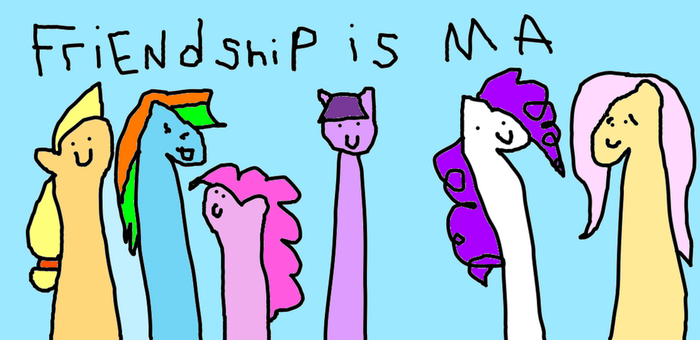 friendship is ma by wollap