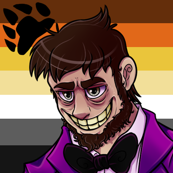 Pride Icon: William Afton/Purple Guy by TheBealeCiphers