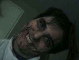 Dr.Psycho makeup by Chanethe80shorrorfan