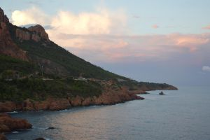 Golden Coast of French Riviera : Trayas Mount by A1Z2E3R