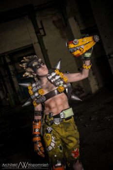 Junkrat/ Overwatch by Blink005