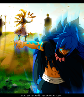 Fairy Tail 470 - Acnologia vs God Serena by IchigoVizard96