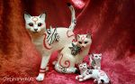 *SOLD*  'Kabegami' ornaments by stephanie1600