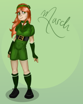 *March* by peachmix