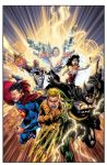 Justice League Issue 15 Cover By Joeprado2010 XGX by knytcrawlr