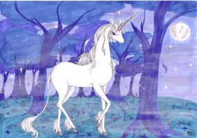 The last Unicorn - Misty dawn by Neri-chan