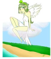Angel in the Sky by SpaceyJessi