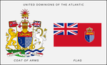 United Dominions of the Atlantic arms and flag by SoaringAven