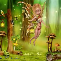 Little Fairy by SK-DIGIART
