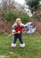 HTTYD Lil Astrid Custom Cosplay Costume SKSProps by SKSProps
