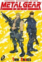 Metal Gear Twin Snakes by BongzBerry