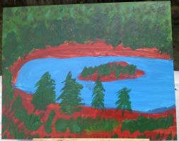 Crater Lake by HarmonyM